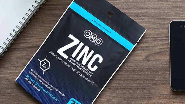 Zinc เป็นแร่ธาตุที่จำเป็นต่อร่างกายของมนุษย์